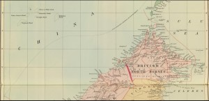 Philippines, Borneo: 1901 London Atlas